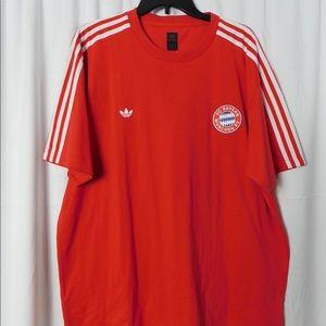 Adidas FC Bayern Tee. Size XL